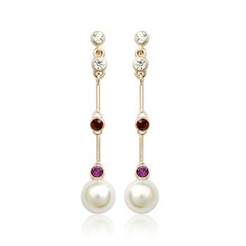 Austrian crystal earring 124950
