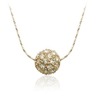 Full drill ball necklace 74518