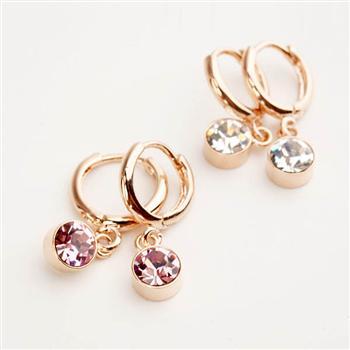Fashion crystal element earring 85123