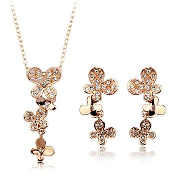crystal jewelry set 132577+122028
