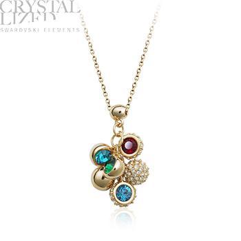Austria crystal necklace 400244