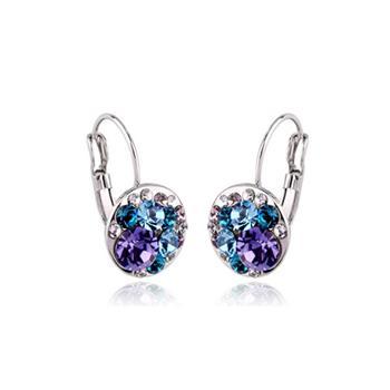Full of crystal earring 320678