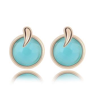 Opal stud earrings KY7257