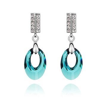 Austrian crystal earrings KY5896