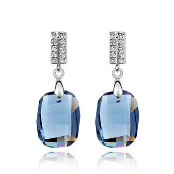 Austrian crystal earrings  KY5889