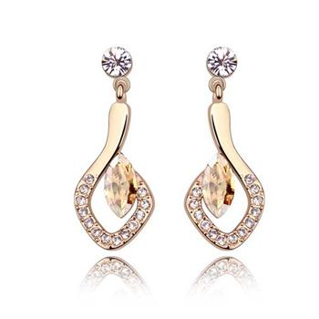 Austrian crystal earring   ky5746
