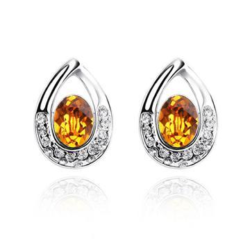 Austrian crystal earring   KY101
