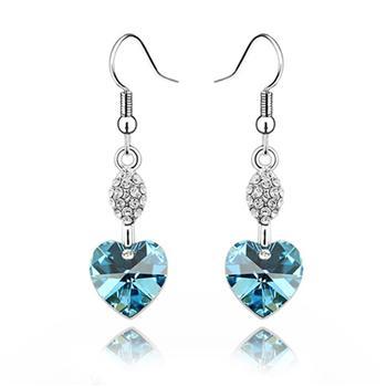 Austrian crystal earring    ky1056