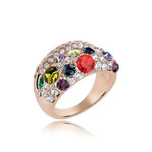 Austrian crystal ring   ky4806