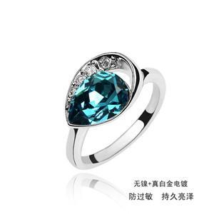 Austrian crystal ring    ky359