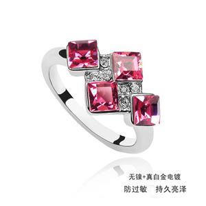 Austrian crystal ring    ky498