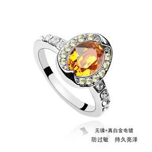 Austrian crystal ring    ky1704