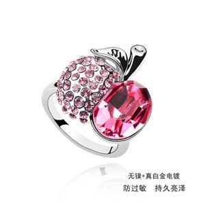 Austrian crystal ring   ky1709