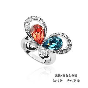 Austrian crystal ring    ky1713
