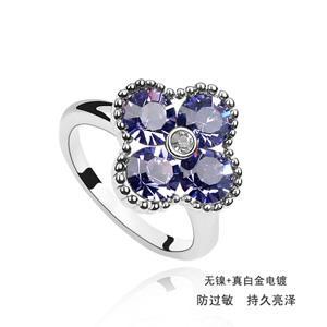 Austrian crystal ring   ky1715