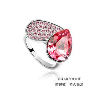 Austrian crystal ring    ky443