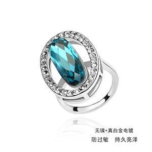 Austrian crystal ring    ky1692