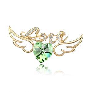 Austrian crystal brooch   ky3370