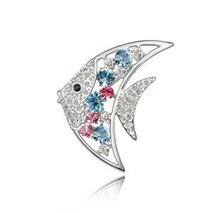 Austrian crystal brooch    ky3551