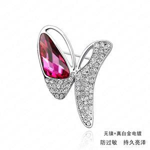 Austrian crystal brooch   ky550