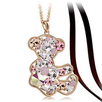 Kovtia  crystal long necklace HXA487342B