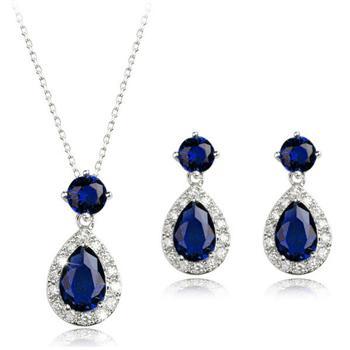 Popular zircon jewelry set  1854087