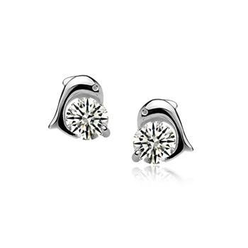925 sterling silver earring 710100