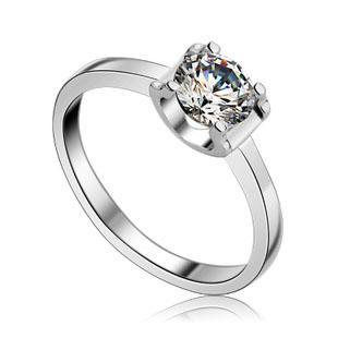silver Heart & Arrows diamond ring S...