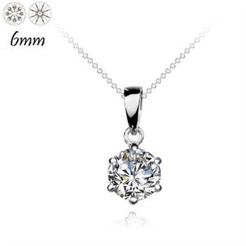6MM silver pendant(excluding chain) 7813...