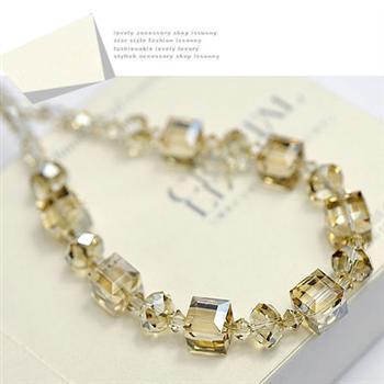 Austria crystal necklace 500318