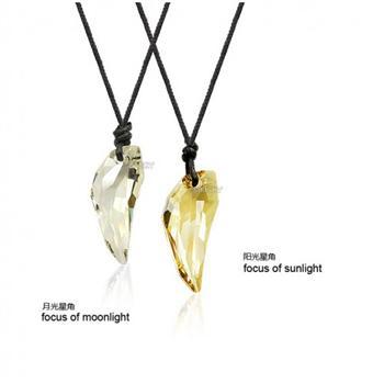 Austria crystal couple necklace ( 2 pcs ...