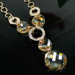 Austria crystal costume necklace n20000