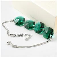 Austria crystal & silver bracelet 81...