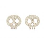 skull earring SE8375