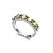 Austrian crystal rings ky16433