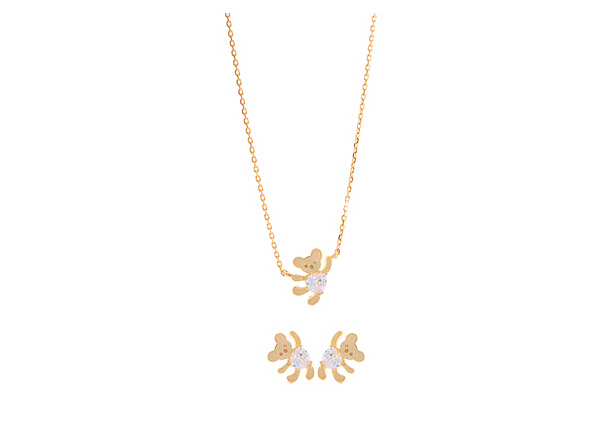 silver jewelry set 711000-750043