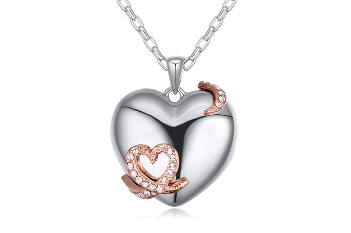 2015 heart necklace ky21432