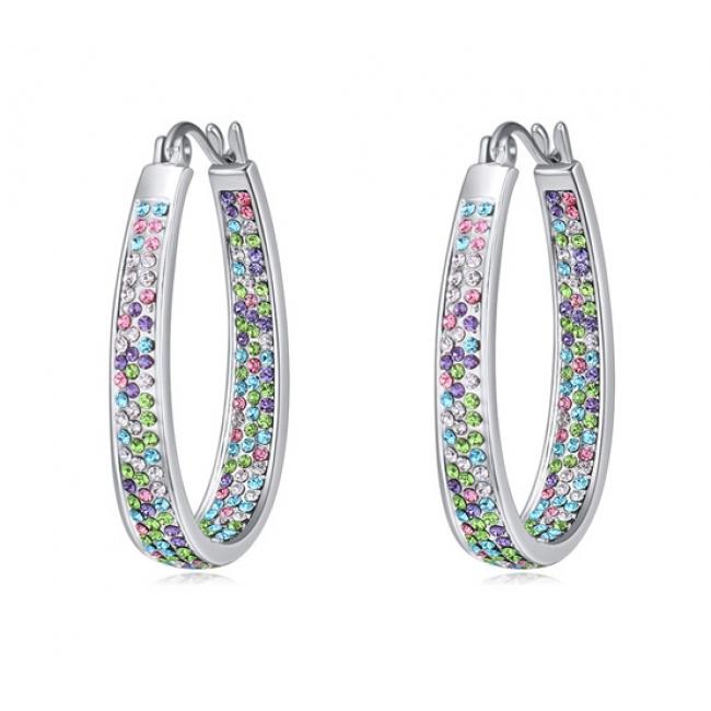 Austria crystal earring SE21851