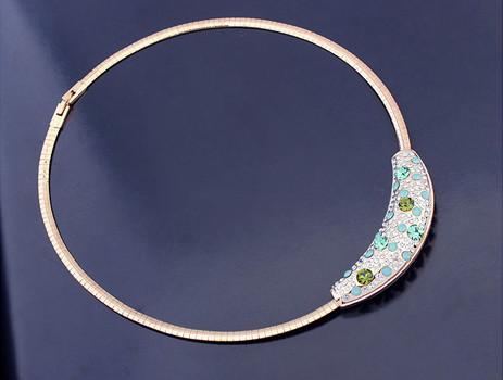 Austria crystal necklace  SE15541