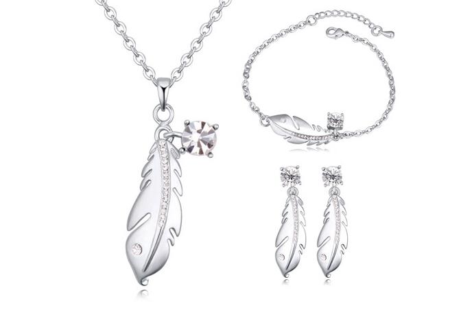 Austrian crystal jewelry set ky21619