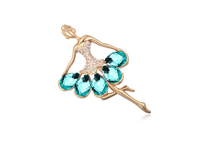 Austrian crystal brooch ky18496