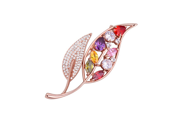 Austrian crystal brooches ky21834