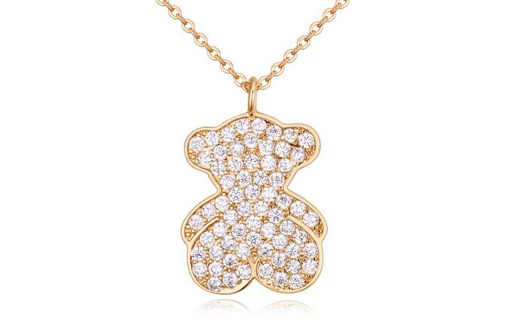 Austrian crystal necklace ky22147
