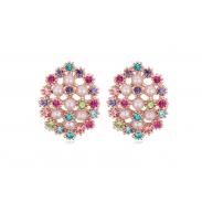 Austrian crystal pearl earrings ky20106