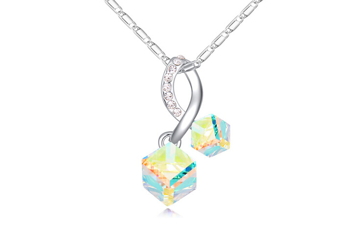 Austrian crystal necklace ky22075