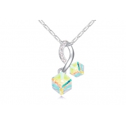 Austrian crystal necklace ky22075
