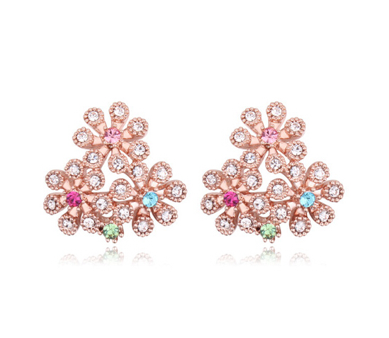 Austrian crystal earrings ky20580
