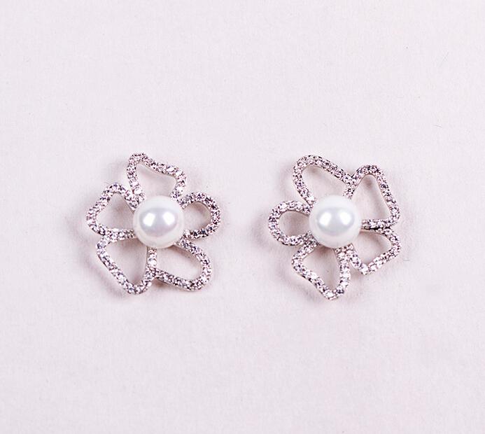 flower pearl earring 208016