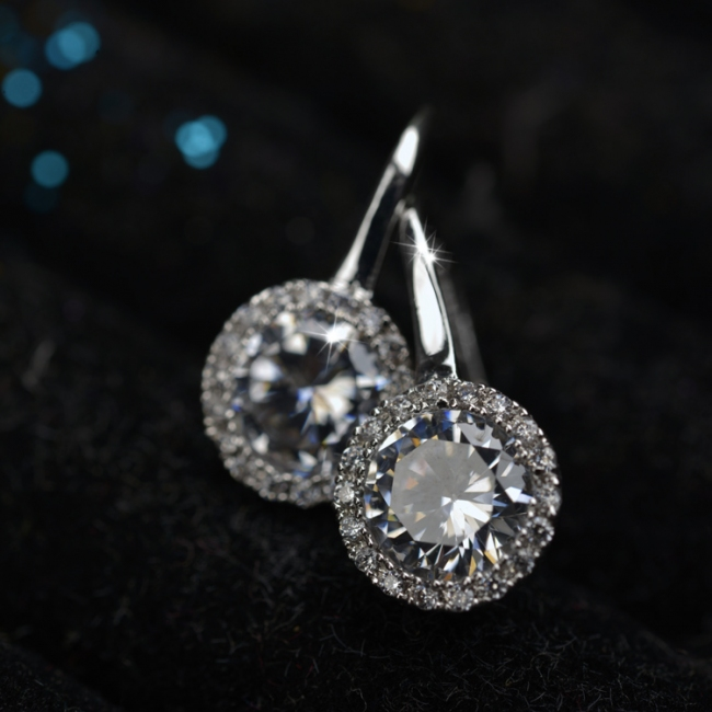 popular zircon earring 87791