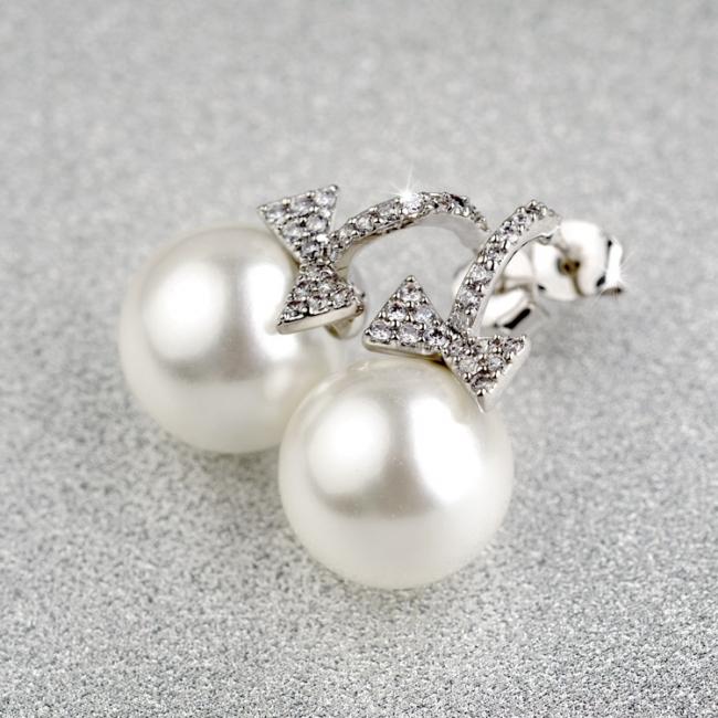 popular pearl earring 87775